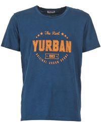 Yurban - Enitule Men's T Shirt In Blue - Lyst