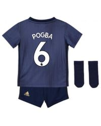 a9146b910 Adidas 2017-2018 Man United Home Baby Kit (pogba 6) Girls s In Red ...