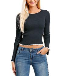 Infinie Passion - Jumper Woman Autumn/winter Collection 17 Women's Sweatshirt In Black - Lyst