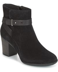 Clarks - Enfield Sari Women's Casual Shoes In Black - Lyst