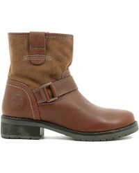 Wrangler - Wl162541 Ankle Boots Women Cognac Women's Mid Boots In Brown - Lyst