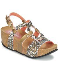 Desigual - Bio 9 Save The Queen Sandals - Lyst
