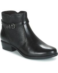 Tamaris - Marly Women's Mid Boots In Black - Lyst