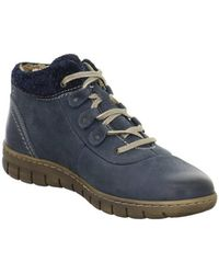Josef Seibel - Steffi Son 13 Women's Shoes (high-top Trainers) In Blue - Lyst