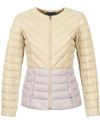 Benetton - Fouli Women's Jacket In Beige - Lyst