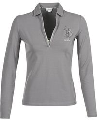 U.S. POLO ASSN. - Cristine Women's Polo Shirt In Grey - Lyst