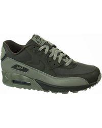 Lyst Nike Air Rojo Max 90 Essential Negro Rojo Air Zapatillas Para Hombres ac9f6b