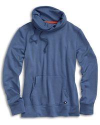 Sperry Top-Sider - Women's Funnel Neck Sweatshirt - Lyst