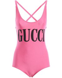 Gucci - Sparkling Printed Swimsuit - Lyst