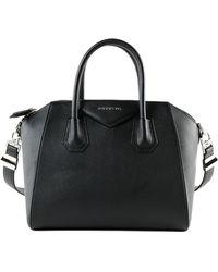 Lyst - Givenchy Large Antigona Shopping Handbag in Black 19c24bddfb