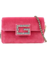 9b3c85316bb Gucci Broadway Gg Archive-p Leather Envelope Clutch - in Black - Lyst