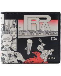 Prada - All Designer Products - Vitello Dna Wallet - Lyst