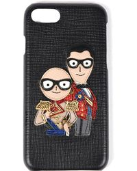 Dolce & Gabbana - Military Designer's Patch Iphone 7 Case - Lyst