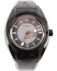 2315d4b915c Lyst - Gucci Sync Lg-ya137301 in Black