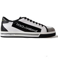 Dolce & Gabbana | Knitted Sneakers Logo | Lyst