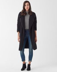 Splendid - Super Soft French Terry Reversible Peacoat With Sherpa - Lyst