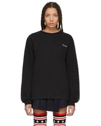 Etudes Studio - Black Ml Team Sweatshirt - Lyst