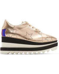 Baskets en similicuir à talon ouvert Sneak-ElyseStella McCartney