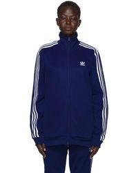 adidas Originals - Blue Franz Beckenbauer Track Jacket - Lyst