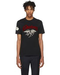 Givenchy - Black Creatures Jersey T-shirt - Lyst