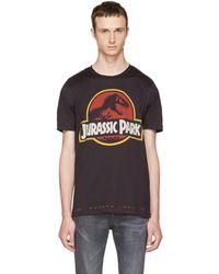 Dolce & Gabbana - Black 'jurassic Park' T-shirt - Lyst