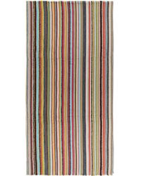 Paul Smith - Multicolor Textured Multistripe Scarf - Lyst