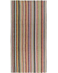 Paul Smith - Multicolour Textured Multistripe Scarf - Lyst