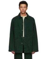 Acne Studios - Green Stealh Coat - Lyst