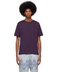 Dries Van Noten Purple Hob T-shirt