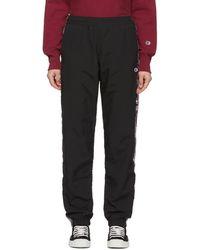 Champion - Black Sideline Lounge Pants - Lyst