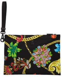 Versace - Black Jewelry Pouch - Lyst