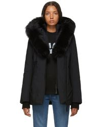 Mackage - Black Adali Powder Touch Down Coat - Lyst