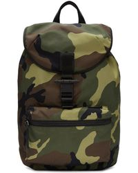 Givenchy - Green Camo Obsedia Light Backpack - Lyst