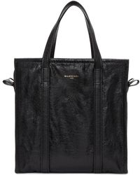 Balenciaga - Black Small Bazar Shopper Tote - Lyst