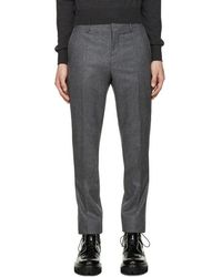 Carven - Grey Wool Trousers - Lyst