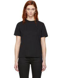 McQ - Black Swallow Badge T-shirt - Lyst