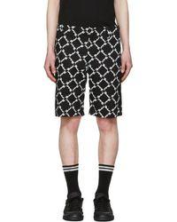 KTZ - Black Baggy Latin Shorts - Lyst