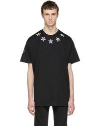 Givenchy - Black Tattoo T-shirt - Lyst