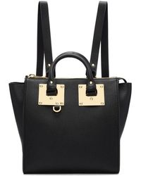 Sophie Hulme | Black Small Holmes Backpack | Lyst