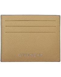 Givenchy - Beige Bicolor Pandora Card Holder - Lyst