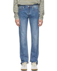 A.P.C. - Indigo New Standard Jeans - Lyst
