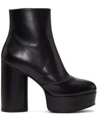 Marc Jacobs - Black Amber Platform Boots - Lyst