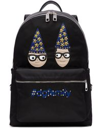 Dolce & Gabbana - Black Magician Designers Dgfamily Backpack - Lyst