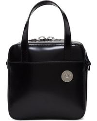 Kara - Black Small Brick Bag - Lyst