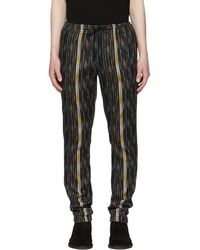 Saint Laurent - Multicolor Striped Ikat Trousers - Lyst