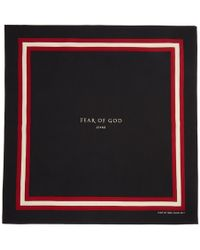 Fear Of God - Black Logo Bandana - Lyst