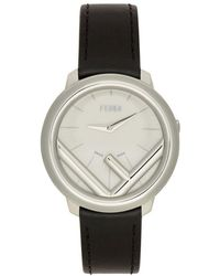 Fendi - Black F Is Run Away Watch - Lyst
