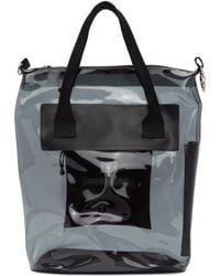Eytys - Black Pvc Void Dp Tote - Lyst