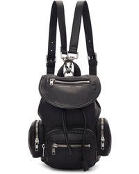 McQ - Black Mini Loveless Backpack - Lyst