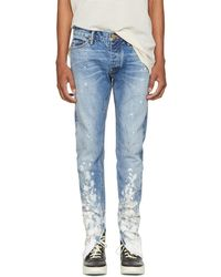 Fear Of God - Indigo Selvedge Denim Painters Jeans - Lyst